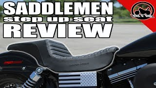 Saddlemen Step Up Seat 2,000 Mile Review