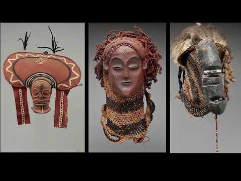 CHOKWE : Masques de réserves et Masques de villages - Partie 1 : Dr. Julien Volper