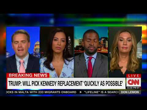 CNN's Bakari Sellers Blows Up Over Kennedy Retirement: 'I'm Extremely Pissed Off At Bernie Sanders'
