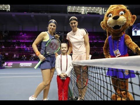 2018 St. Petersburg Open Quarterfinals | Petra Kvitova vs Jelena Ostapenko | WTA Highlights