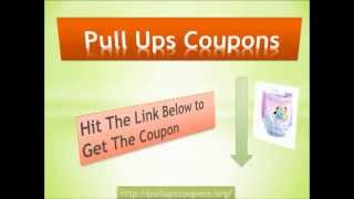 Pull Ups Coupons - Potty Training Is Fun With Pull Ups Coupons