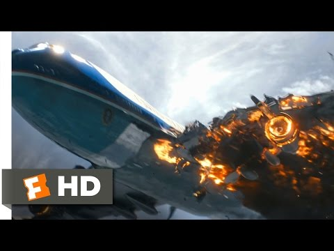 White House Down 2013  Air Force One Destroyed  810  Movies