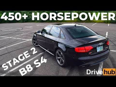 Here's What Happens When You Stage 2 APR the B8 Audi S4 *2011 S4 Review