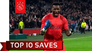 TOP 10 SAVES - Andre Onana