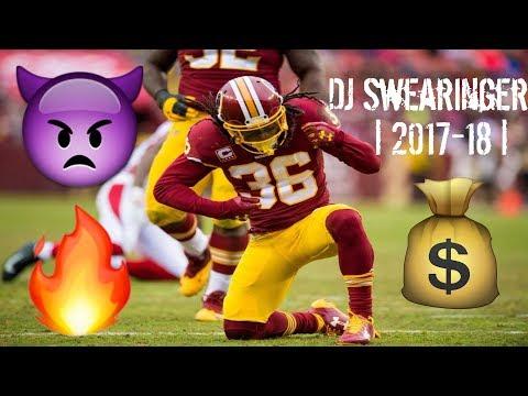 DJ Swearinger |2017-18 | Redskins Highlights ᴴᴰ