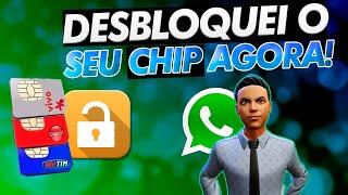 RESOLVIDO | CHIP BLOQUEADO! Como desbloquear um chip e receber mensagens e internet