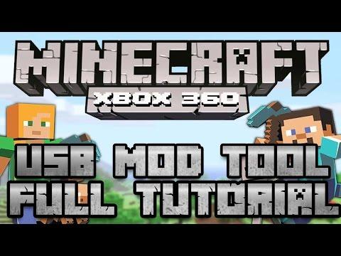 Minecraft Xbox 360: Best USB Mod Tool Download +Tutorial [2015]