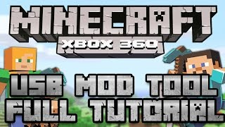 Minecraft Xbox 360: Best USB Mod Tool Download +Tutorial [2015]