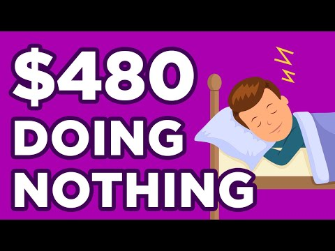 App That Pays You $480 For FREE While You Sleep (Make Money Online)