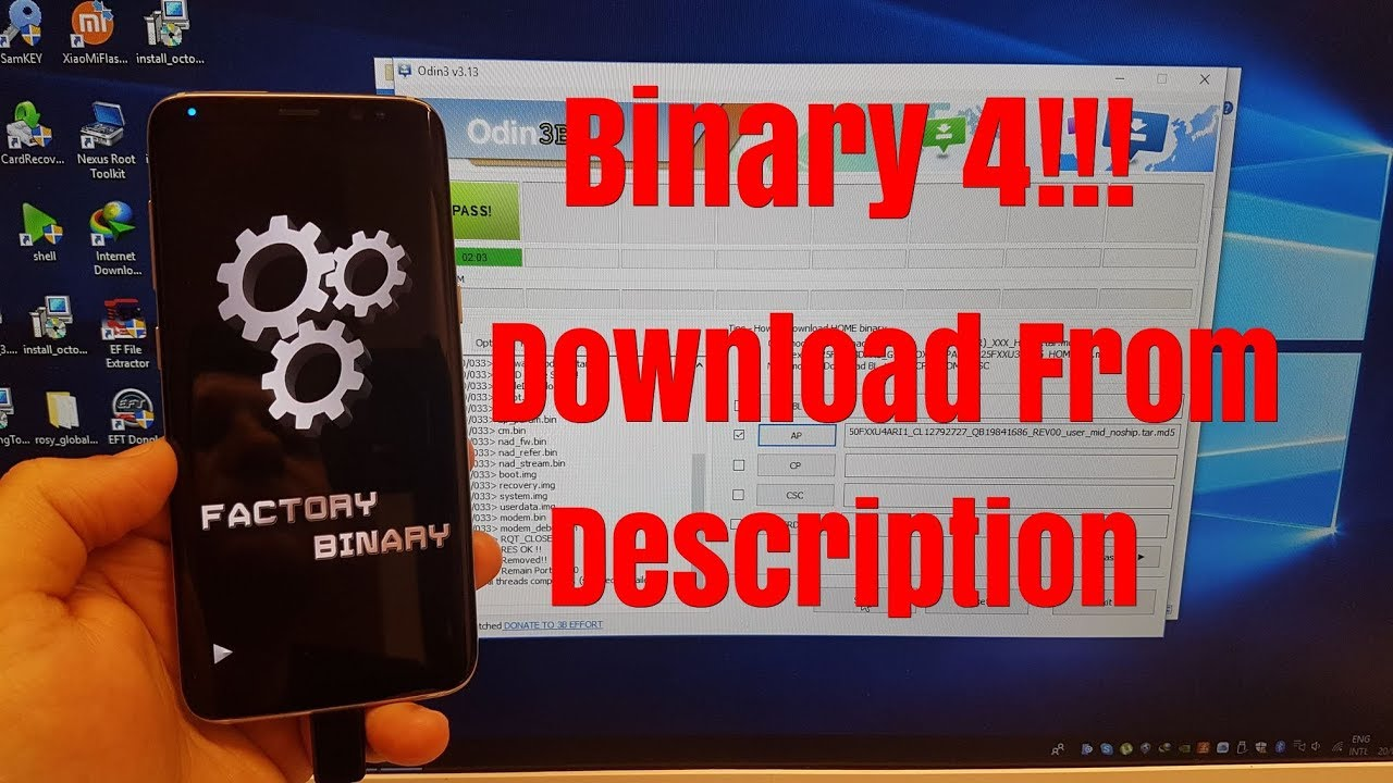BOOM!!! Samsung S8 SM-G950F Android 8 Binary 4 Remove Google Account Bypass  FRP