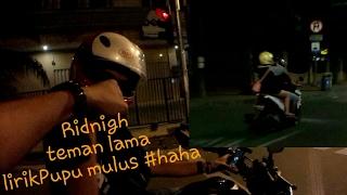 Gambar cover Ridnigh bareng temen lama #sepatubootut vlog