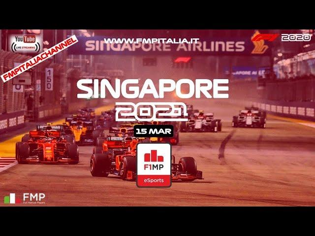 F1MP - #16 SINGAPORE | FMP ITALIA