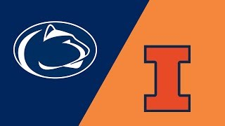 Week 4 2018 #10 Penn State vs Illinois Highlights Sep 22 2018