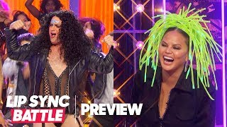 "Matt Iseman (American Ninja Warrior) is Cher for ""Believe"" | Lip Sync Battle Preview"