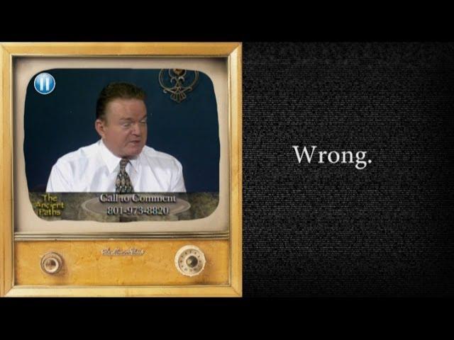 Analyzing a Mormon Apologist (Martin Tanner)
