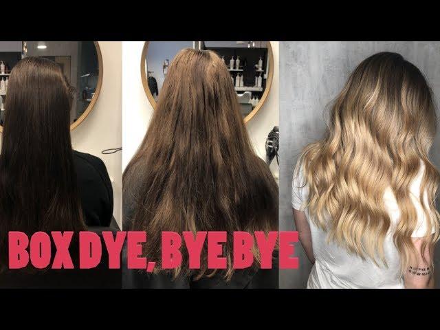 avfärgning hår online