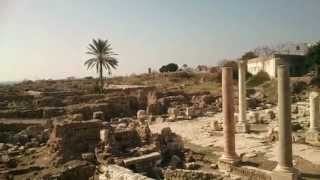 Tyre, Southern Lebanon, Al Mina archaeological site 2014 - Sour city