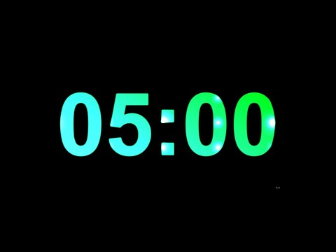 5 Minute Timer With Music
