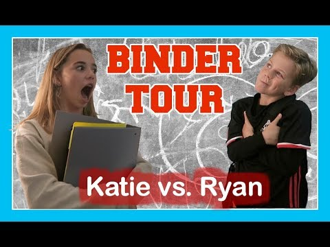 SCHOOL BINDER 📔 TOUR | WHICH BINDER'S BETTER? | Flippin' Katie