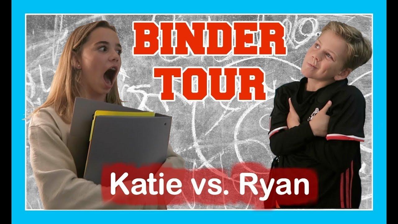 school binder tour which binder s better flippin katie