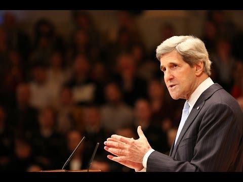United States Secretary of State John Kerry Speaks at MDC