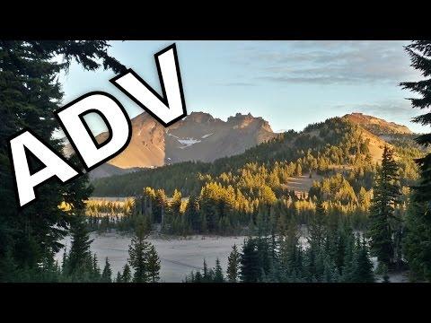 Moto-Mule trailer!   Dual Sport Motorcycle Riding Through The Oregon Cascades