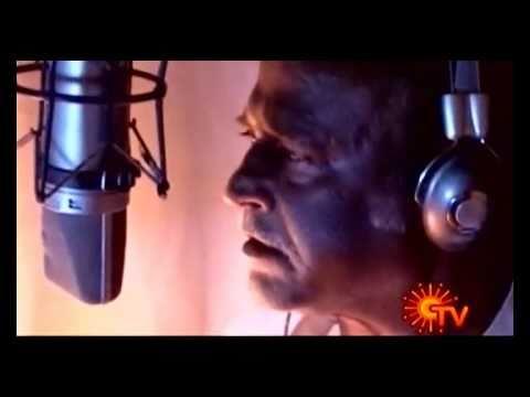 Superstar Rajnikanth dubbing for Enthiran