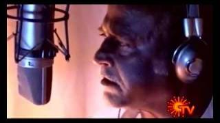 Superstar Rajnikanth dubbing for Enthiran