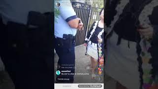 Poro merge la Cristina Ivone acasă cu politia și a ieșit cu mă sa la poarta!