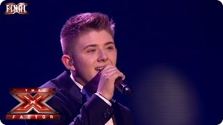 Nicholas McDonald sings Angel by Sarah McLachlan - Live  Final Week 10 - The X Factor 2013