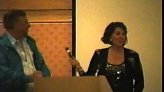 Majel Barrett-Roddenberry (with Gene)=6/3/1989 Star Trek Convention Appearance