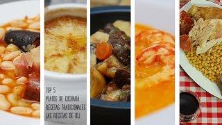 TOP 5 PLATOS DE CUCHARA   Mis mejores recetas tradicionales de invierno