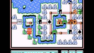 Super Mario Bros 3 -  - Ice World - User video