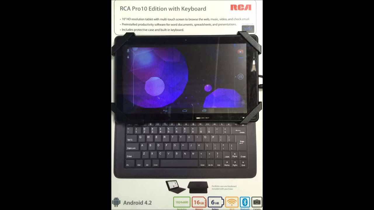 Rca pro 10 tablet review of specs with manual – product reviews net.