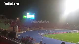 هتافات جمهور الأهلي قبل مباراة حوريا