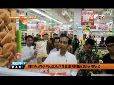 Jokowi Berbelanja di Mal Bareng Kaesang