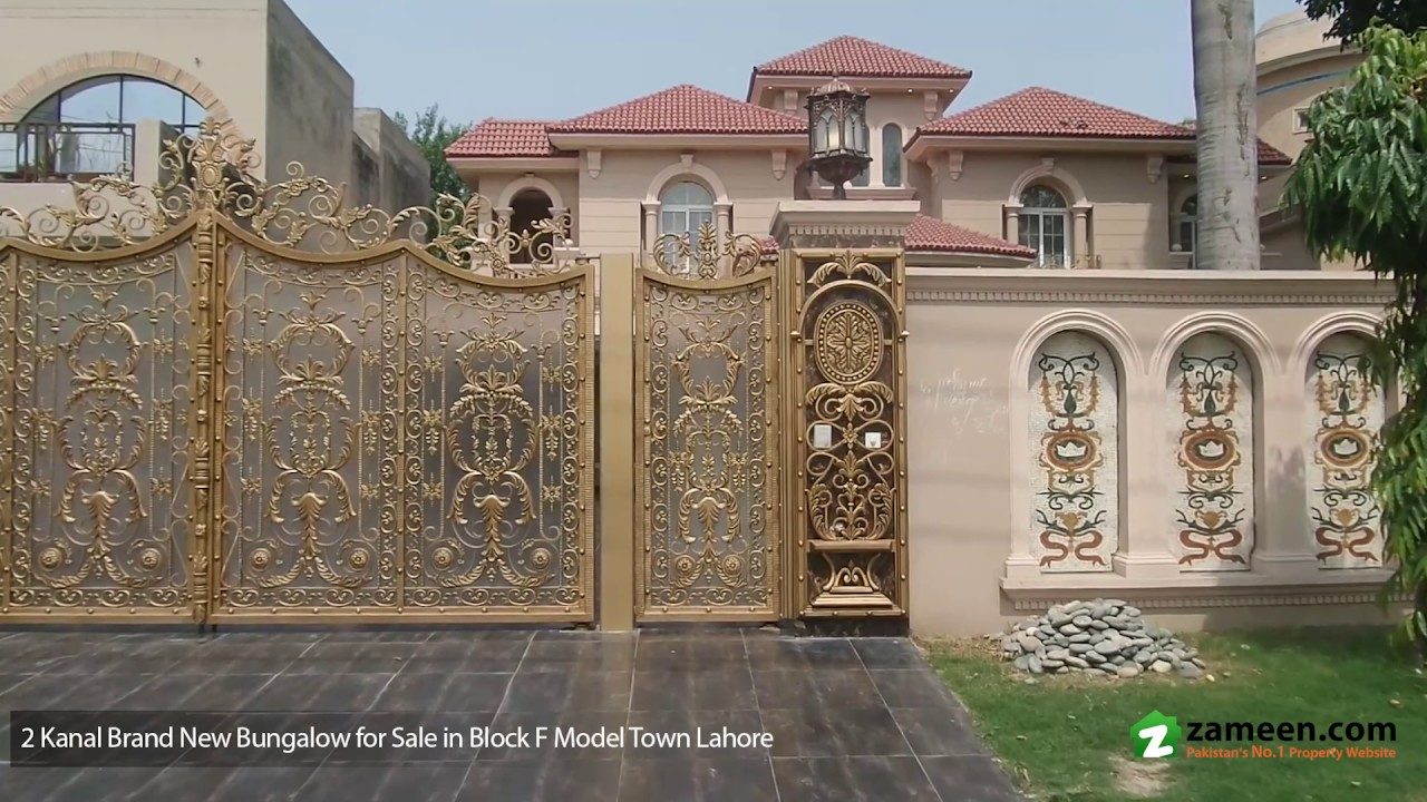 2 Kanal Brand New Bungalow With Basement Is Available For Sale In Model Town Lahore