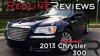 2013 Chrysler 300 Review, Walkaround, Exhaust, & Test Drive