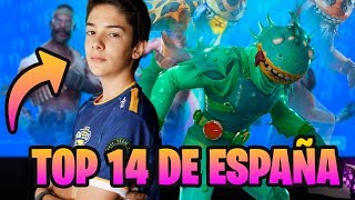 TOP 14 DE ESPAÑA EN *FORTNITE* WINS EN SOLITARIO PC CON MANDO TEMPORADA 10