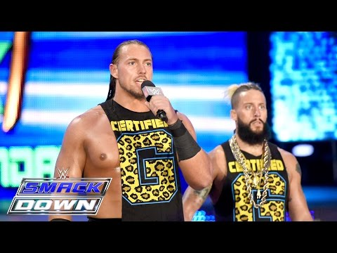 Enzo Amore and Big Cass barge in on The Club: SmackDown, June 9, 2016