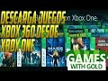 COMO DESCARGAR JUEGOS DE XBOX 360 DESDE XBOX ONE