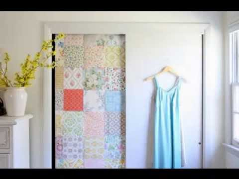 diy bedroom door design decorating ideas youtube. Black Bedroom Furniture Sets. Home Design Ideas