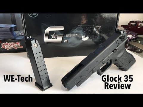 WE-Tech G35 Glock Replica Review! Semi-Full Auto Edition!