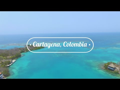 CARTAGENA, COLOMBIA: Fort, Mudd Volcano, & Island Life!