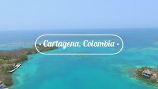 CARTAGENA, COLOMBIA: Fort, Mudd Volcano, & Island Life!