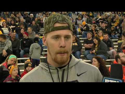 C.J. Beathard Interview - Iowa Spring Football
