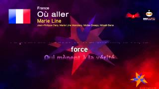 Video Marie Line - Où aller (France) Eurovision Song Contest 1998 download MP3, 3GP, MP4, WEBM, AVI, FLV Agustus 2017