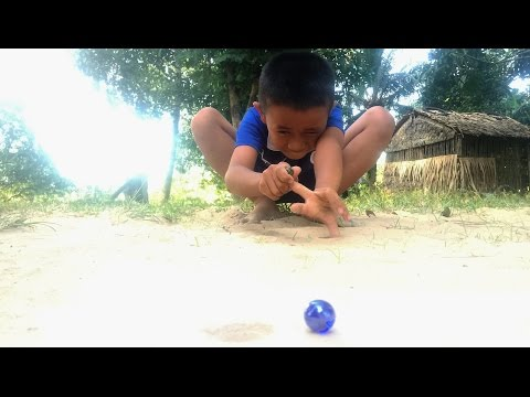 How To Play Marbles? | Khmer Traditional | Cambodia