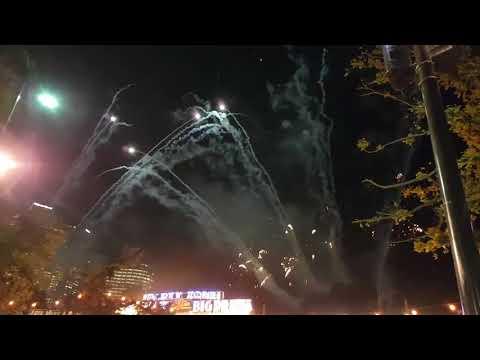 Moomba Festival Fireworks Melbourne Australia