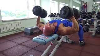 Тренировка груди суперсэтами. 6-я неделя сушки